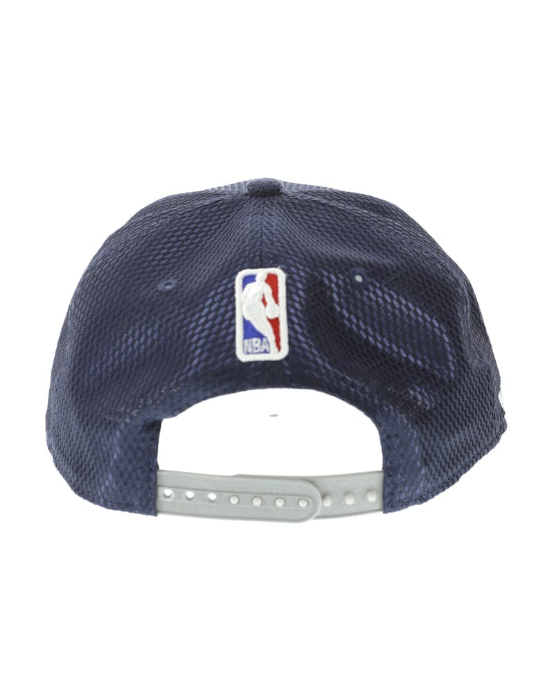 New Era Minnesota Timberwolves 9FIFTY On-Court Collection Draft Snapback Navy