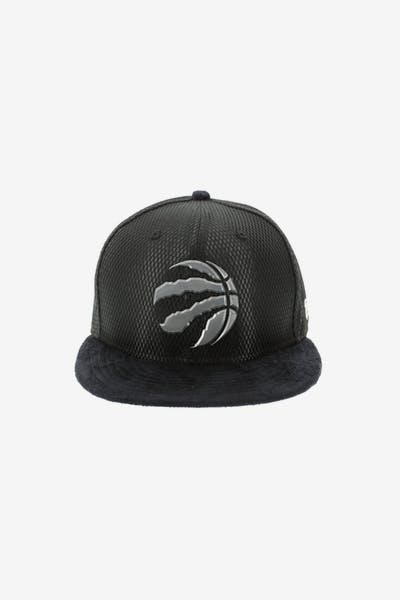 4767f012544 New Era Toronto Raptors 59FIFTY Fitted On-Court Collection Draft Black