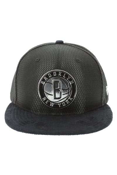 New Era Brooklyn Nets 59FIFTY Fitted On-Court Collection Draft Black