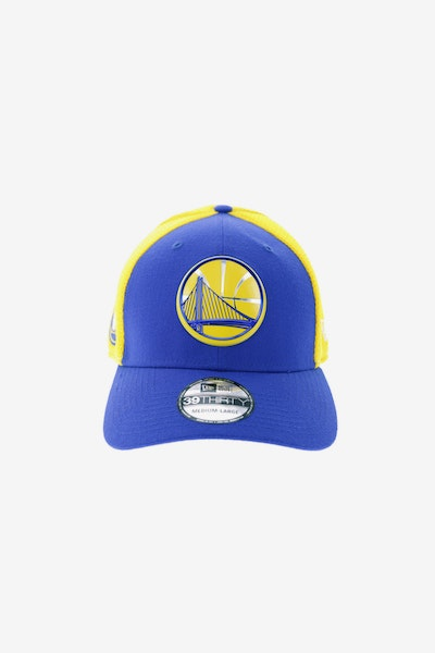 New Era Golden State Warriors Logo 3930 Fitted Royal