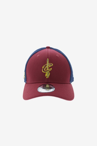 New Era Cleveland Cavaliers Logo 3930 Fitted Burgundy