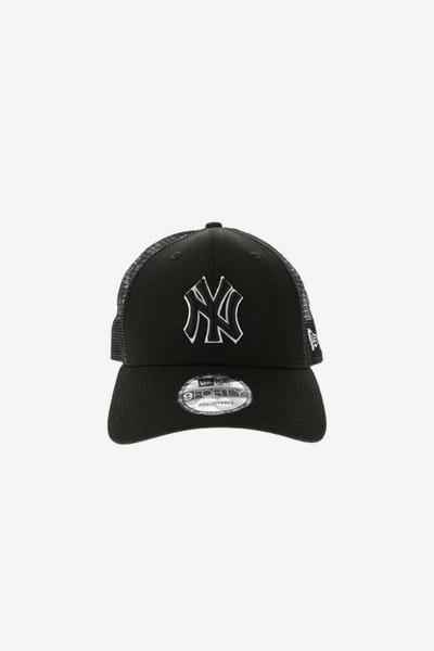 New Era New York Yankees 940 Trucker Snapback Black