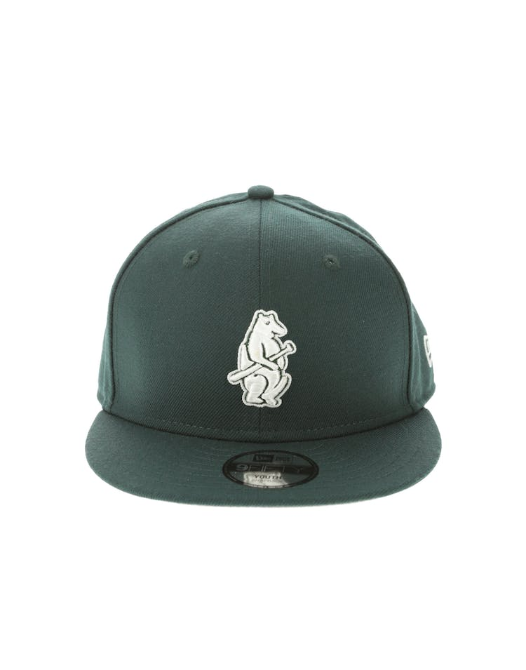 New Era Chicago Cubs Youth 950 Snapback Dark Green