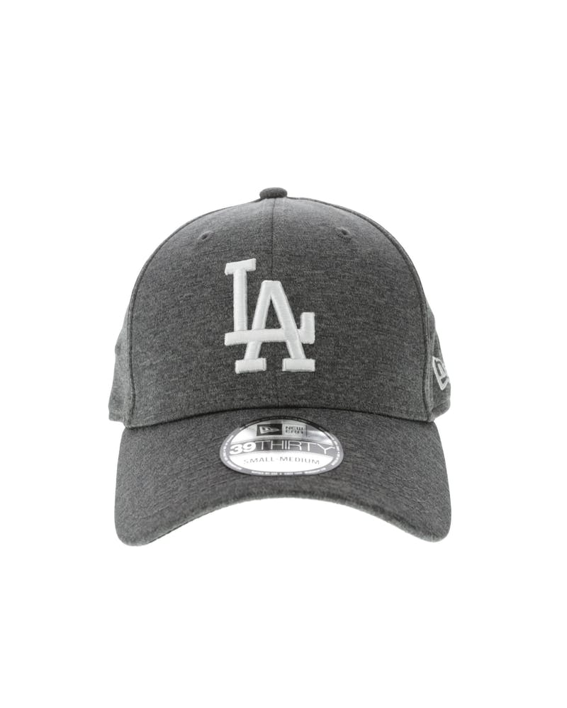 New Era Los Angeles Dodgers 3930 Shadow Tech Fitted Hat Charcoal