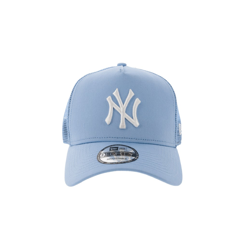 ea8bce8809ccb ... france new era new york yankees ck 940 a frame trucker snapback light  blue 6db7a d2b13 ...