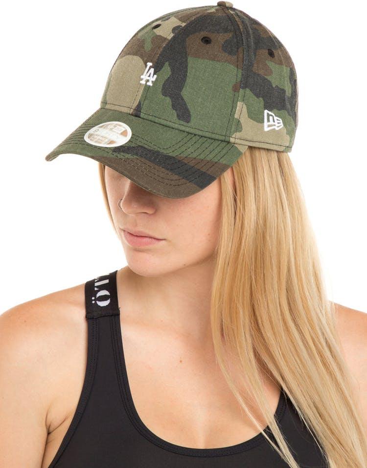 classic fit 5b838 115d7 New Era Ladies Los Angeles Dodgers 9FORTY Mini Strapback Camo