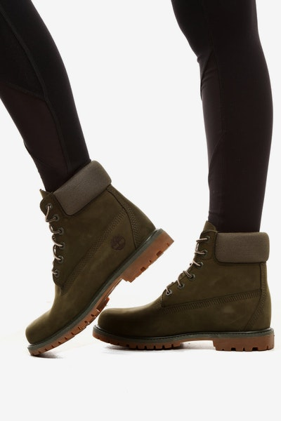 Timberland Women's 6 Inch Premium Boot Forest Green
