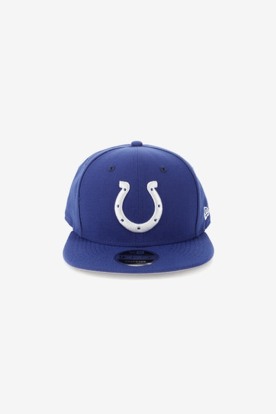 New Era Indianapolis Colts 9FIFTY Original Fit Snapback Royal