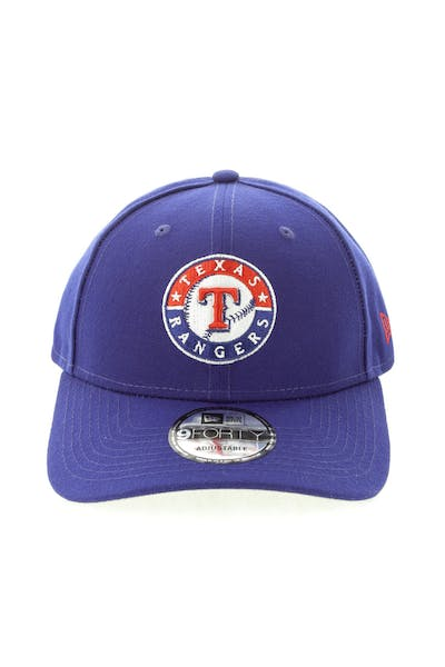 New Era Texas Rangers 9FORTY Snapback Dark Royal