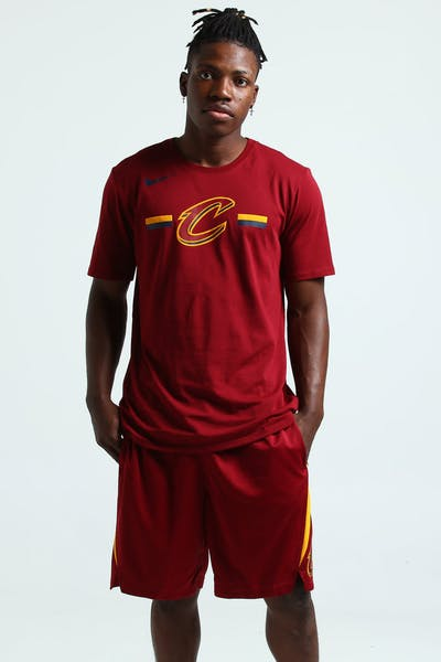Nike Cleveland Cavaliers Dry Logo Tee Red
