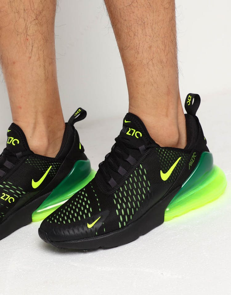 low priced 444fb fde18 Nike Air Max 270 Black/Lime