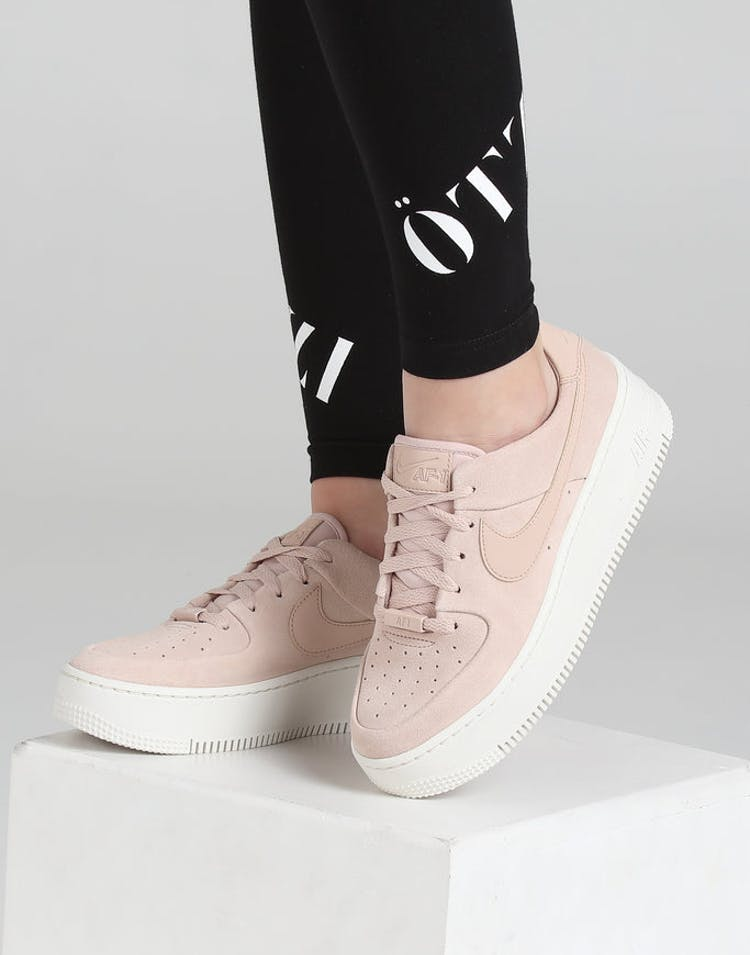 size 40 24839 975ea Nike Women s Air Force 1 Sage Low Beige White