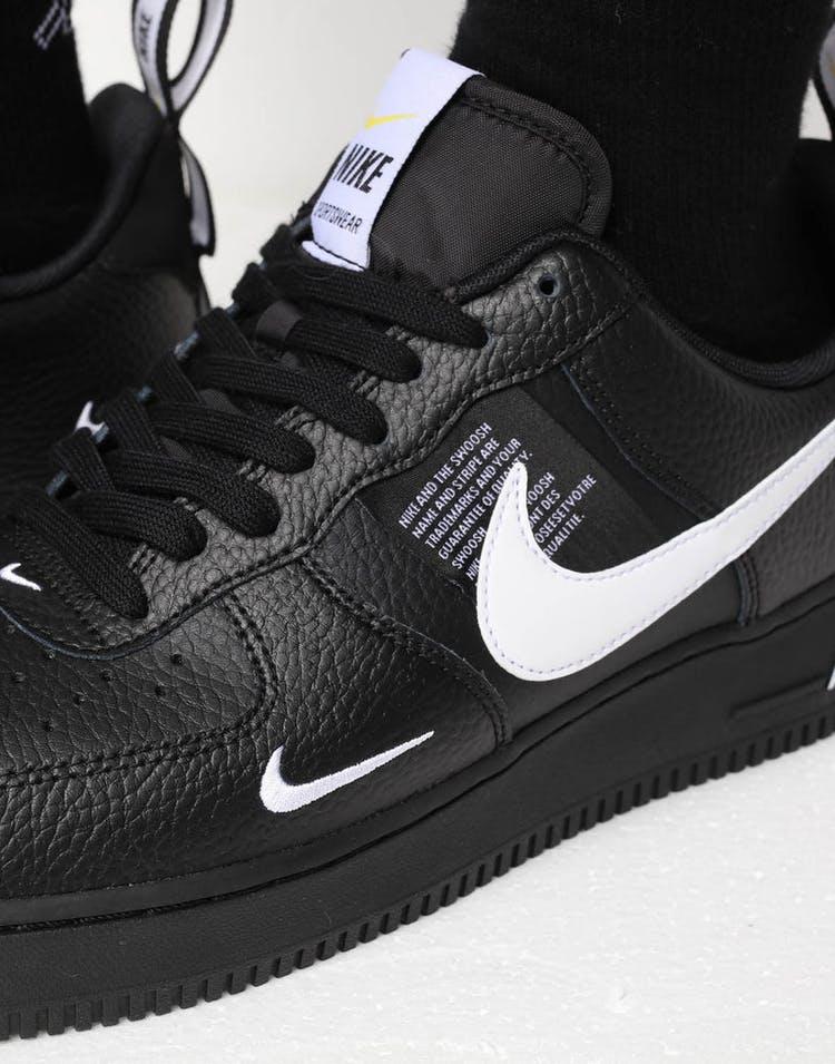 new styles 2a21b 5dbff Nike Air Force 1 '07 LV8 Utility Black/White