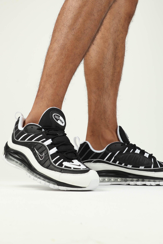 Nike Air Max 98 BlackWhiteSilver
