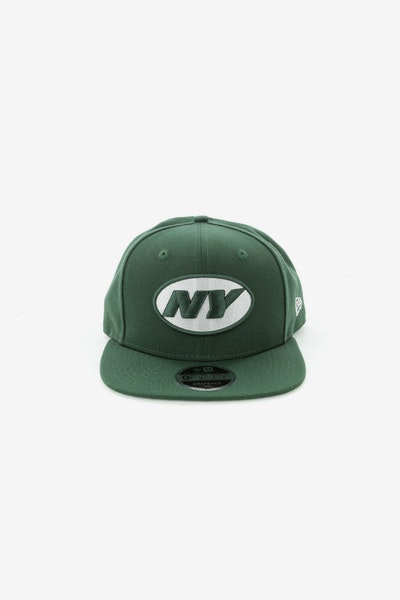 New Era New York Jets 950 Original Fit Snapback Dark Green