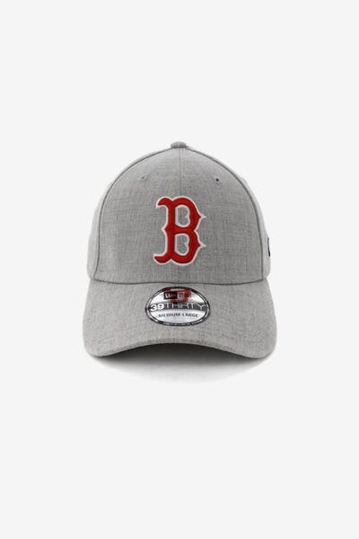 watch 9a9c9 4a74c New Era Boston Red Sox 3930 Stretch Fit Heather Grey