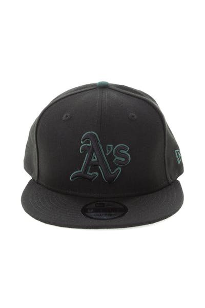 New Era Oakland Athletics 9FIFTY Snapback Black/Green