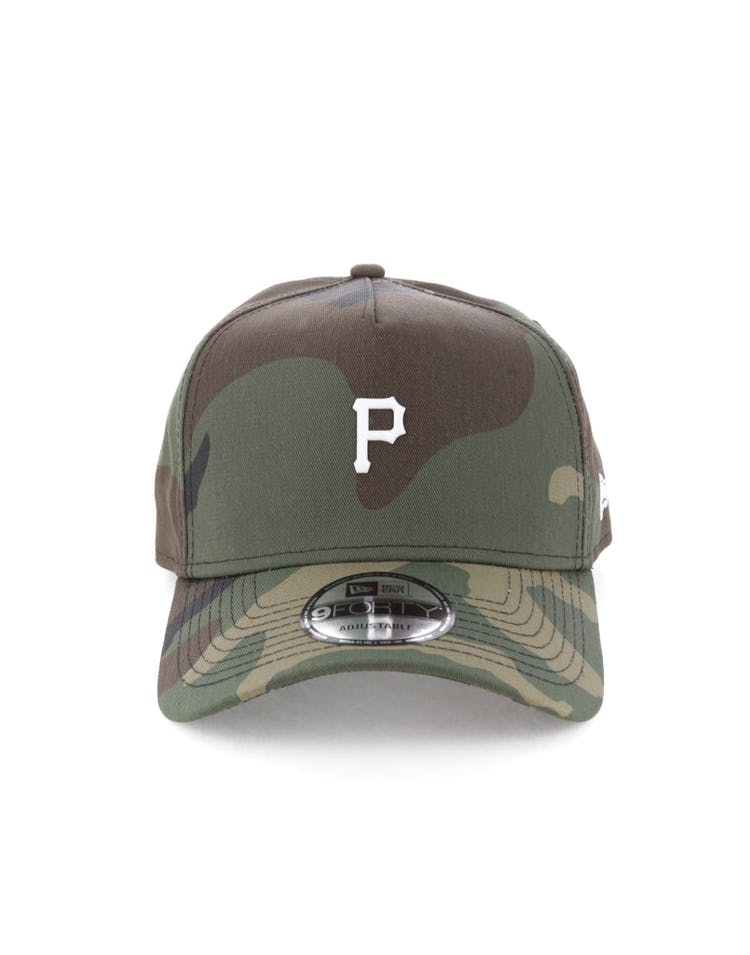 New Era Pittsburgh Pirates TPU 9FORTY A-Frame Snapback Camo