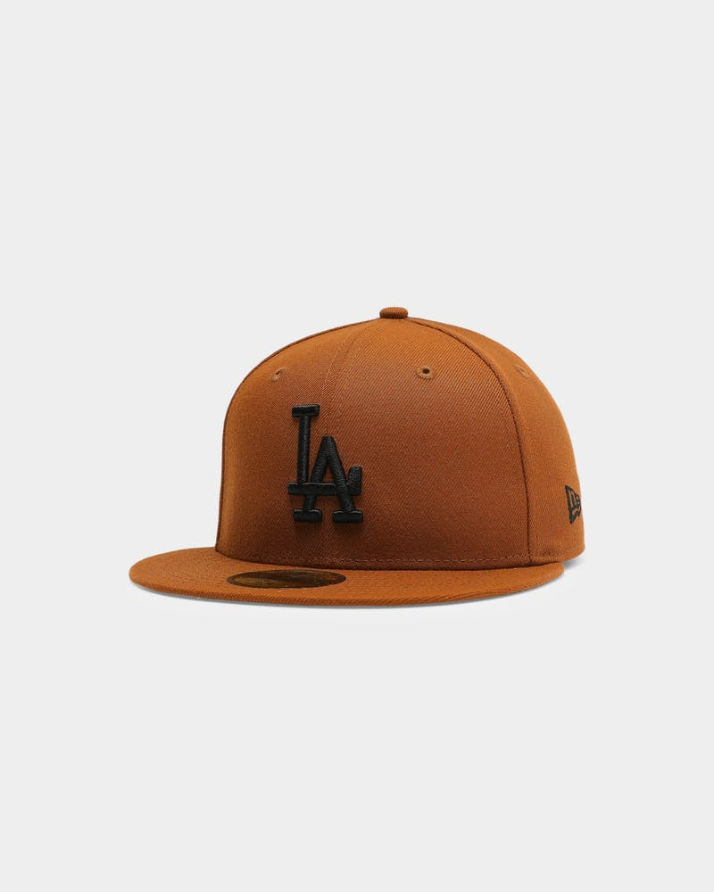 New Era Los Angeles Dodgers 59FIFTY Black UV Fitted Toasted Peanut