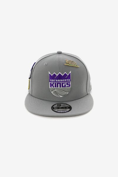 New Era Sacramento Kings 9FIFTY OTC Draft Snapback Grey