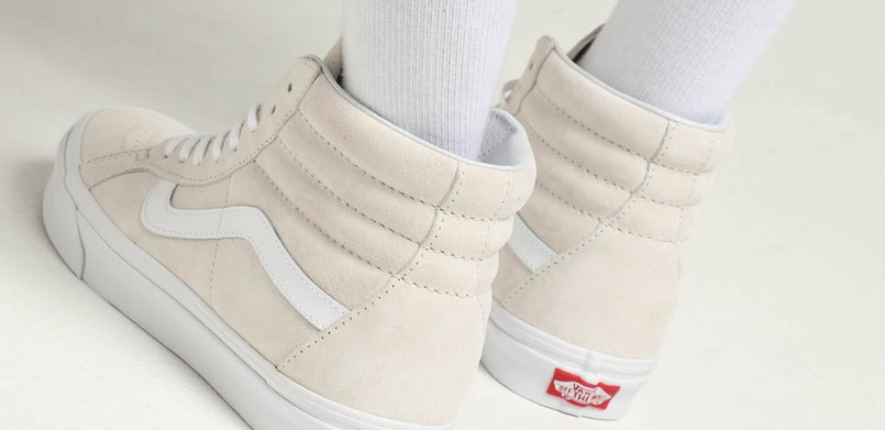 e811c3882ed1 Pig Suede upper - Lace closure - Iconic Vans branding - 3M Scotchgard  Protector to protect from oil and water - Style code  VN0A2XSBU5L