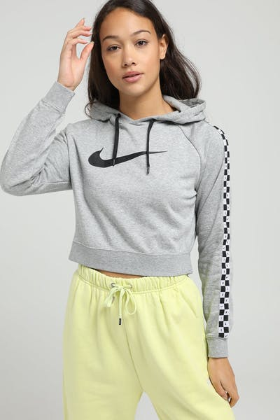 NIKE WOMEN'S NIKE SPORTSWEAR HOOD DARK GREY HEATHER