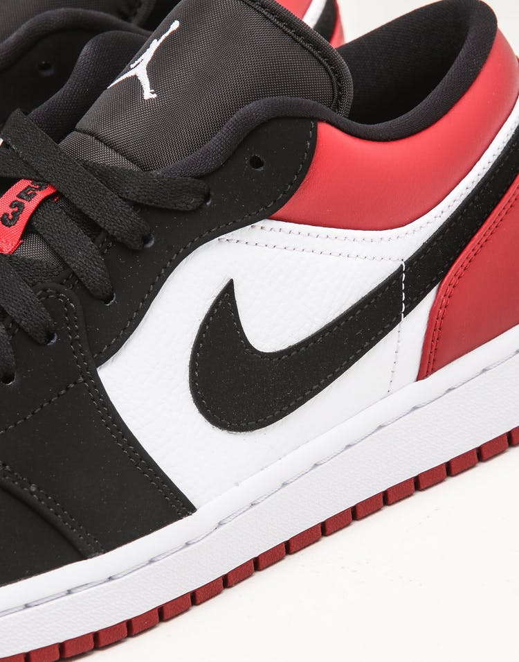Jordan Air Jordan 1 Low White/Black/Red