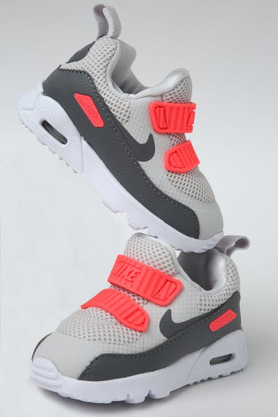 Nike Toddler Air Max Tiny 90 (TD) Grey/Crimson/White