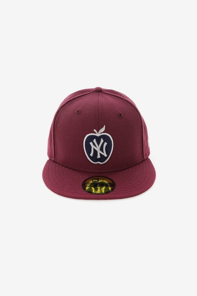 New Era New York Yankees 5950 Fitted Maroon