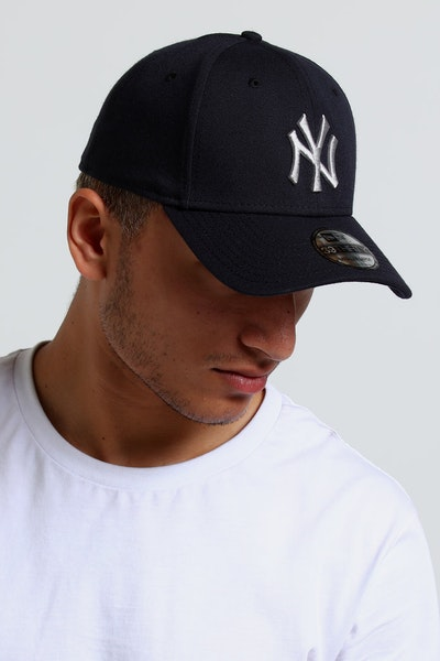 New Era New York Yankees 39THIRTY Stretch Navy