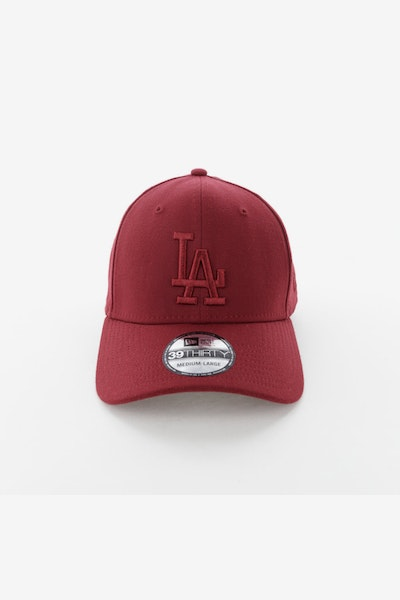 New Era Los Angeles Dodgers 3930 Stretch Fitted Cardinal