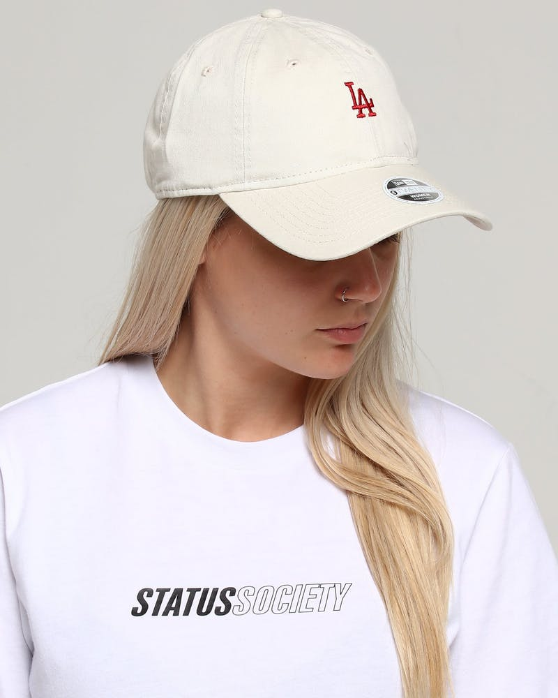 New Era Women's Los Angeles Dodgers 9TWENTY Strapback Ivory