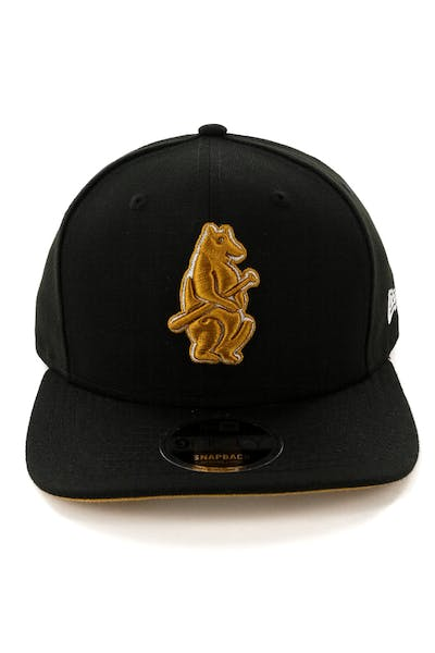 New Era Chicago Cubs 9FIFTY Original Fit Snapback Black