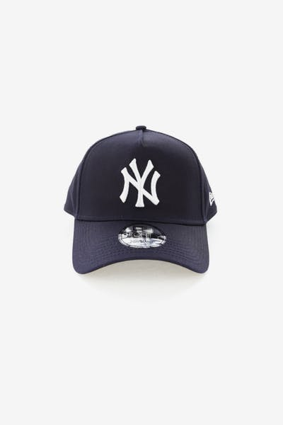 98e1d528f34 New Era New York Yankees 9FORTY A-Frame Snapback Navy