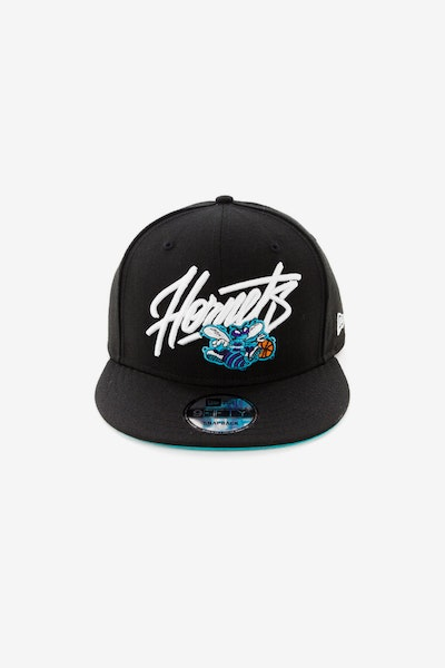 New Era Charlotte Hornets 9FIFTY Snapback Black