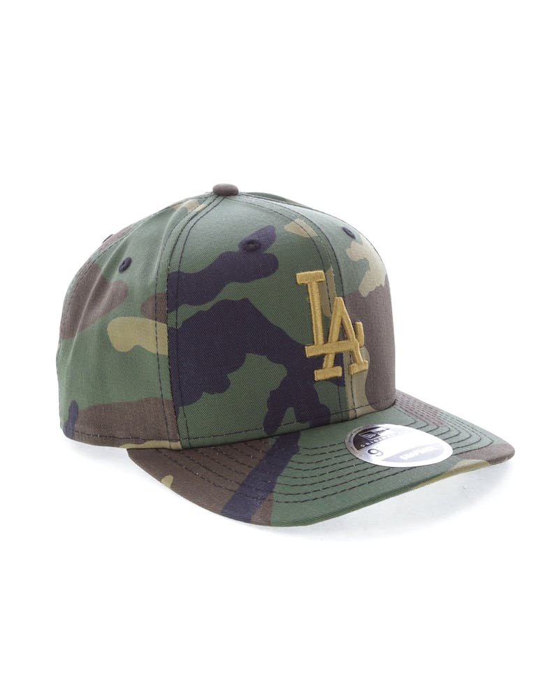 New Era Dodgers 9FIFTY Original Fit Precurve Snapback Camo