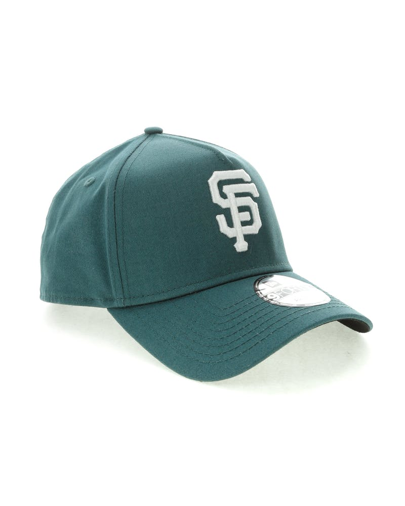 New Era San Francisco Giants 9FORTY A-Frame Black UV Snapback Blue Spruce