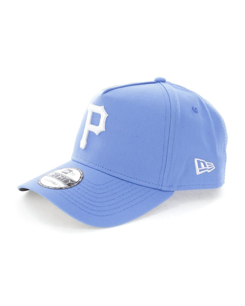 New Era Pittsburgh Pirates 9FORTY A-Frame Snapback Sky Blue