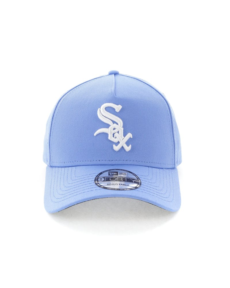 New Era Chicago White Sox 9FORTY A-Frame Snapback Sky Blue