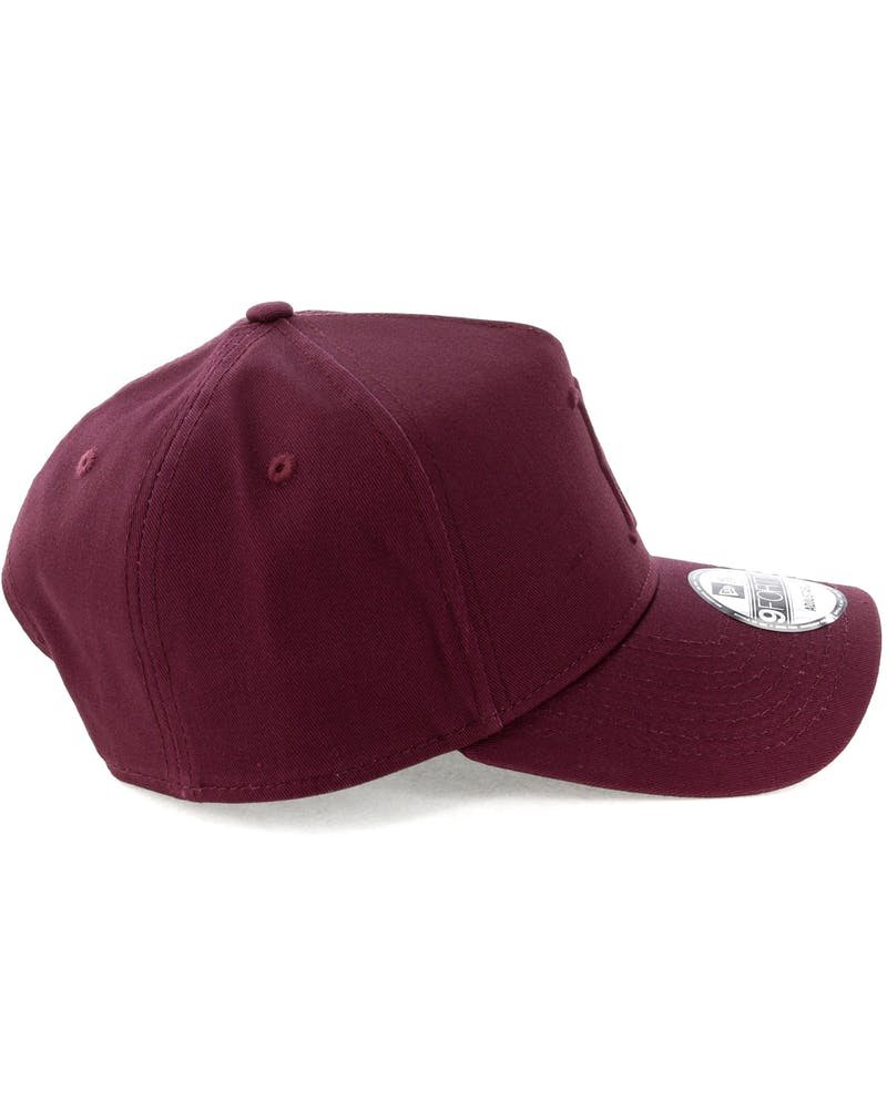 New Era Boston Red Sox Emboss 9FORTY A-Frame Snapback Maroon