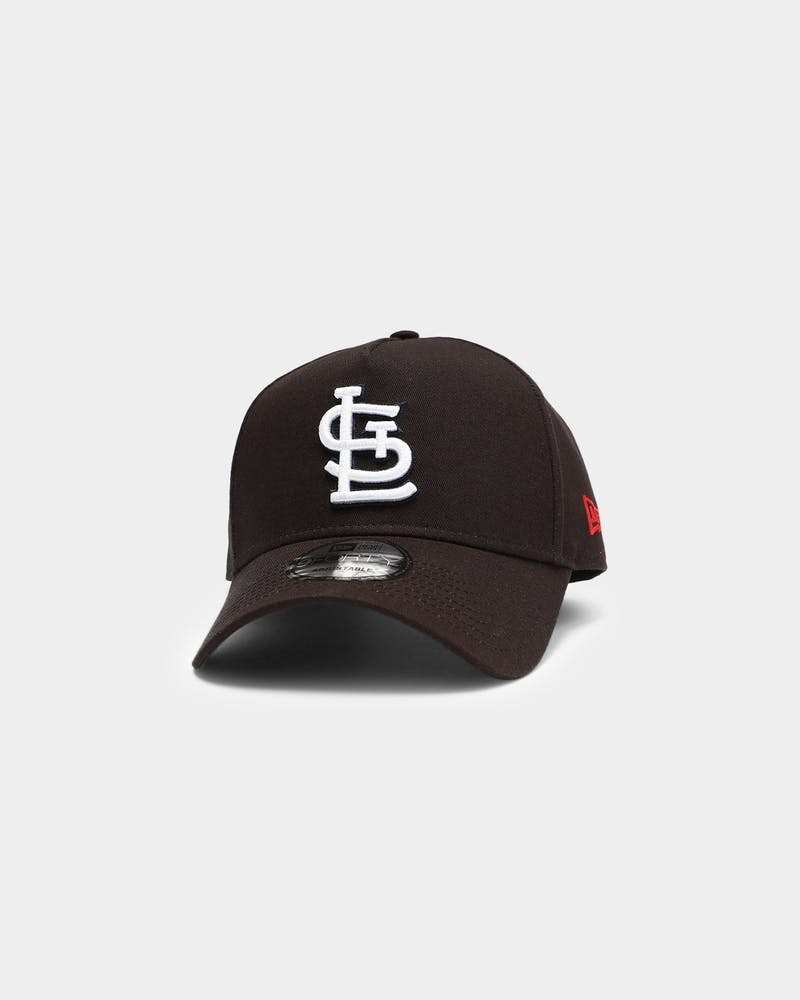 New Era St Louis Cardinals MLB 9FORTY A-Frame Snapback Black