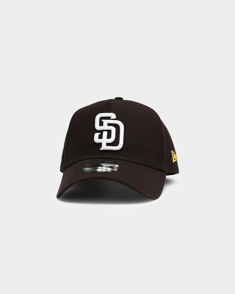 New Era San Diego Padres MLB 9FORTY A-Frame Snapback Black