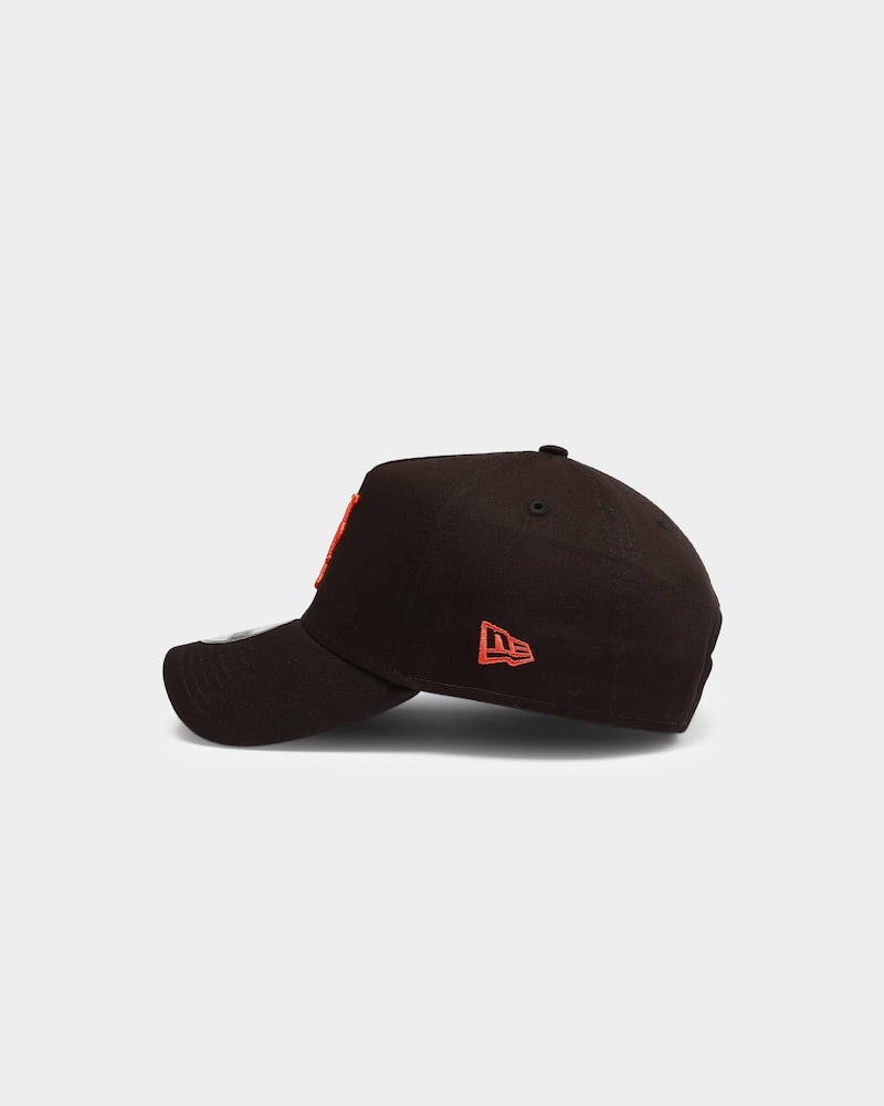 New Era New York Mets MLB 9FORTY A-Frame Snapback Black