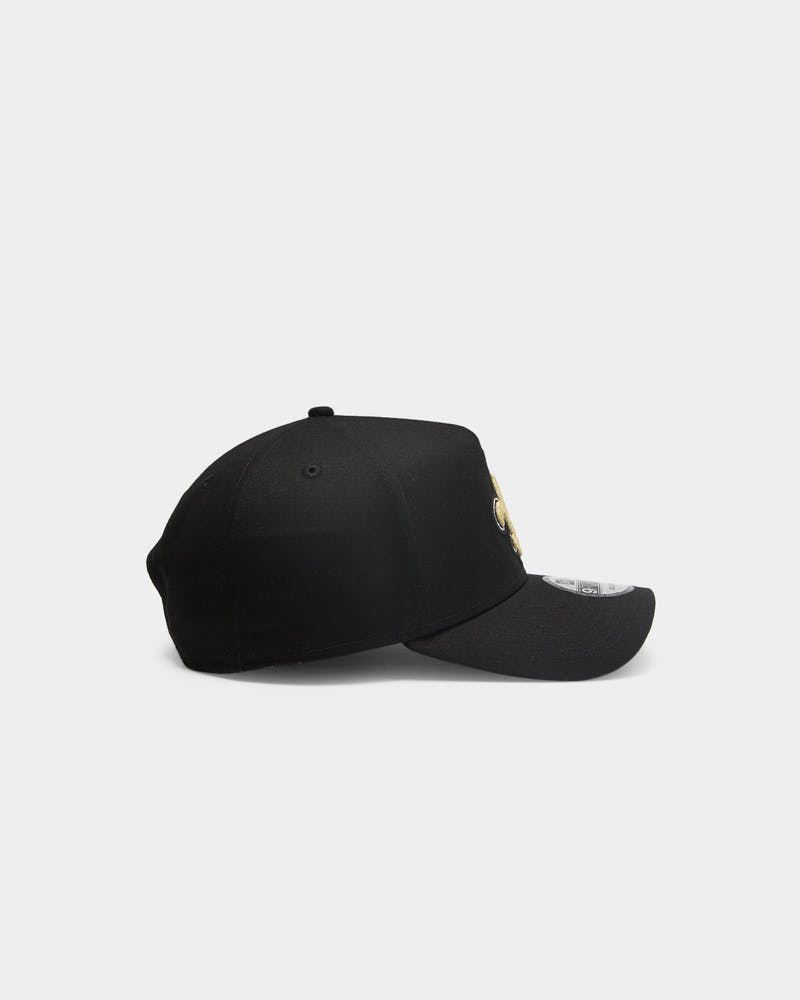 New Era New Orleans Saints NFL 9FORTY A-Frame Snapback Black