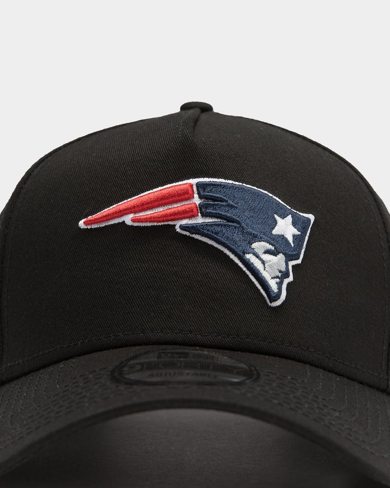 New Era New England Patriots NFL 9FORTY A-Frame Snapback Black