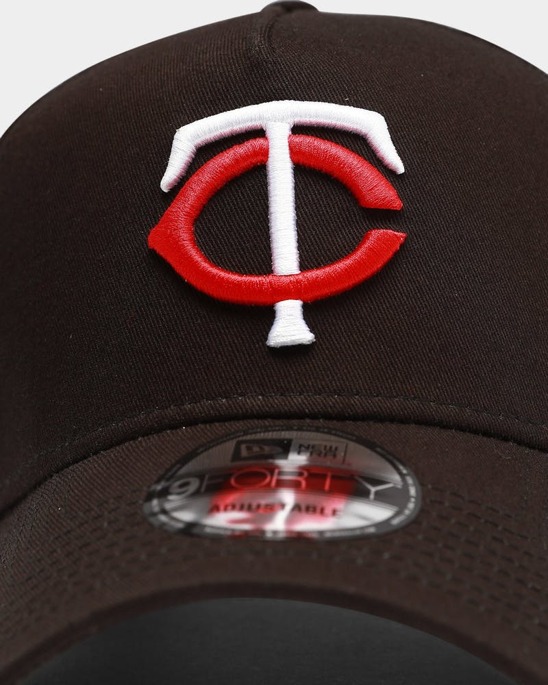 New Era Minnesota Twins MLB 9FORTY A-Frame Snapback Black