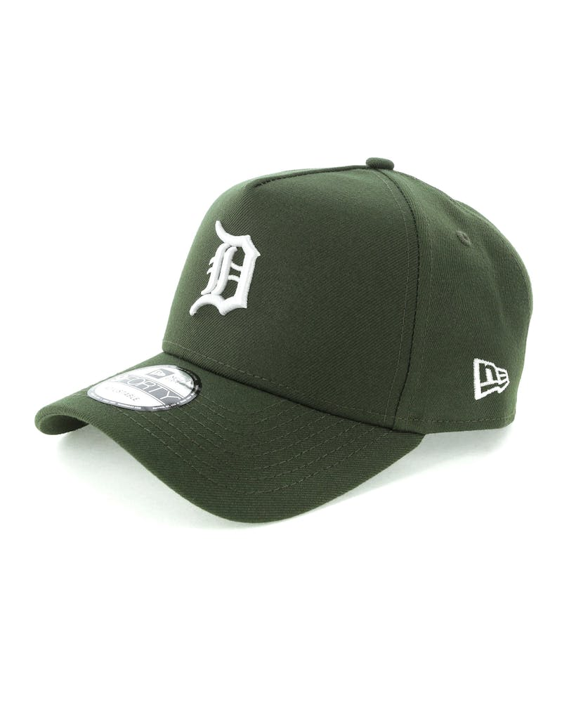 New Era Detroit Tigers 9FORTY A-Frame Snapback Seaweed