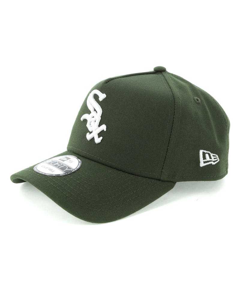 New Era Chicago White Sox 9FORTY A-Frame Snapback Seaweed