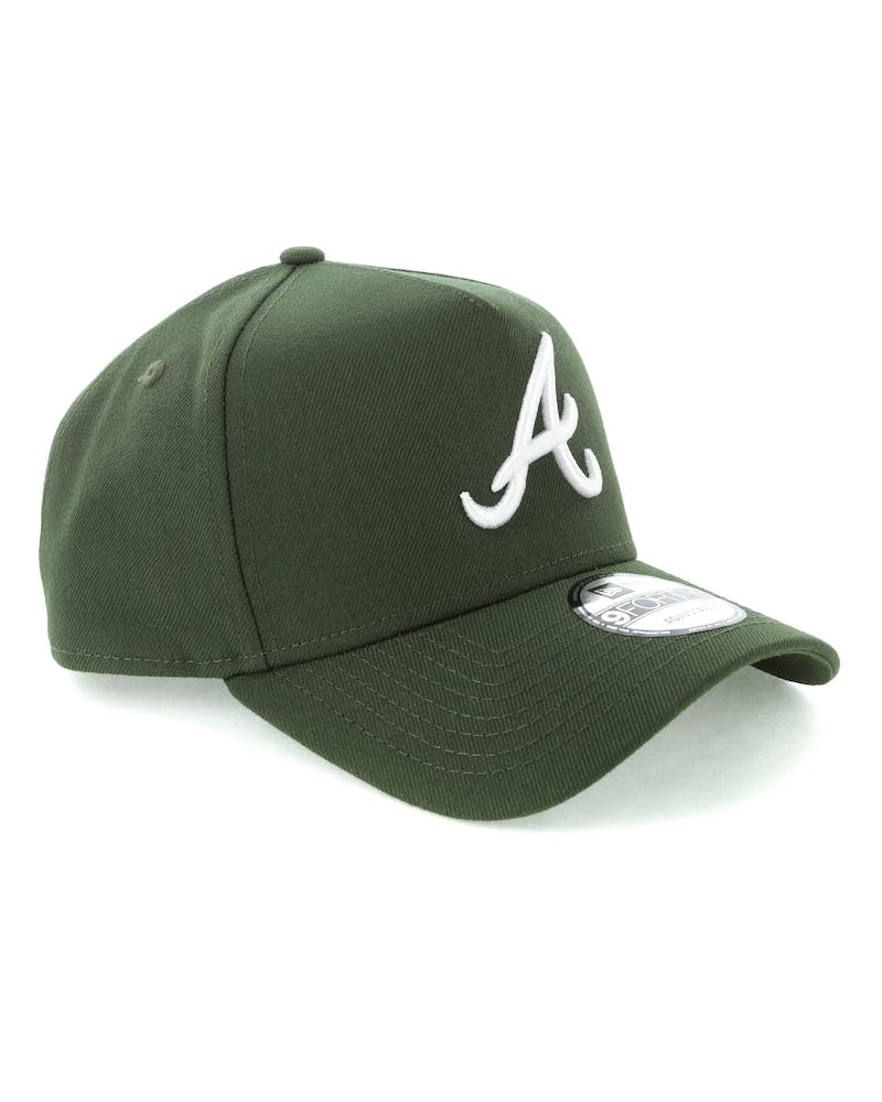 New Era Atlanta Braves 9FORTY A-Frame Snapback Seaweed