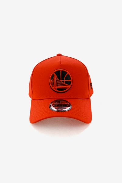 New Era Golden State Warriors CK 940 A-Frame Snapback Cherry/Black